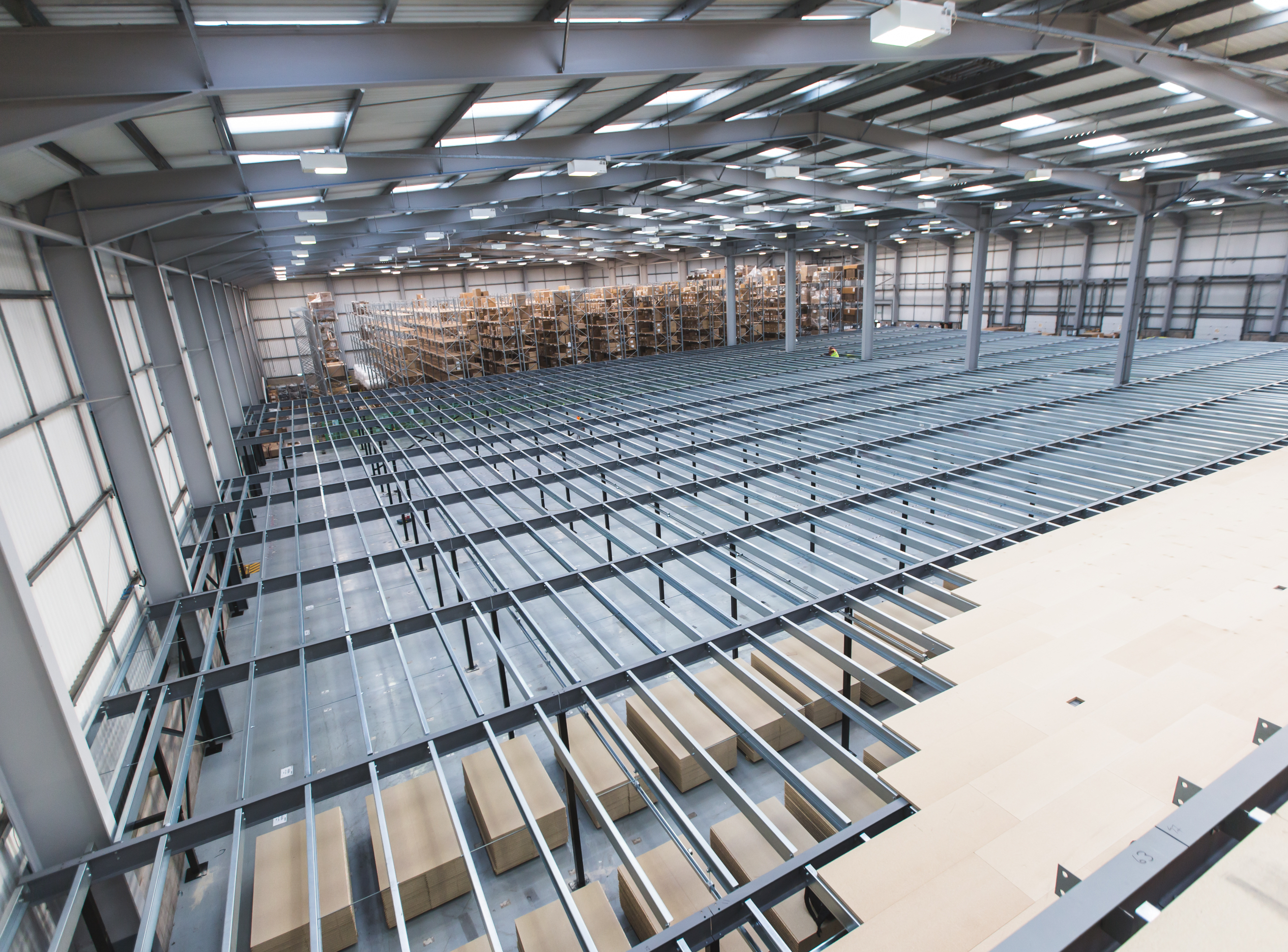 Bespoke mezzanine floors - design & installation