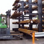 cantilever racking loading