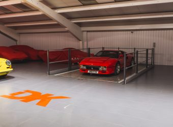 dk engineering ferrari car lift