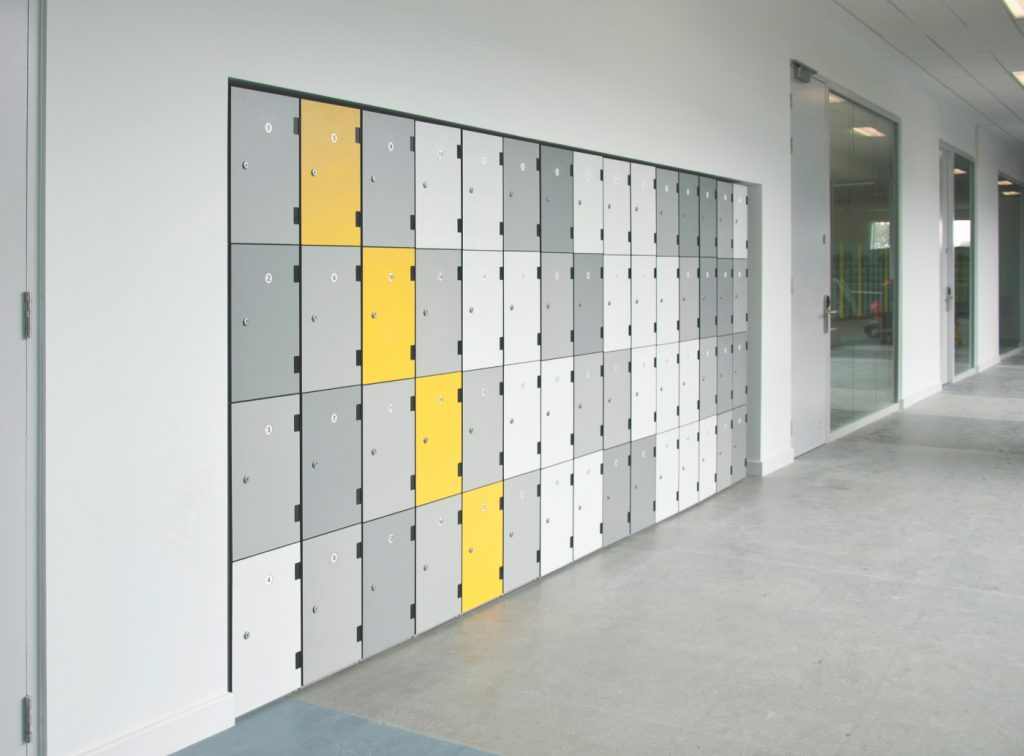 lockers installation