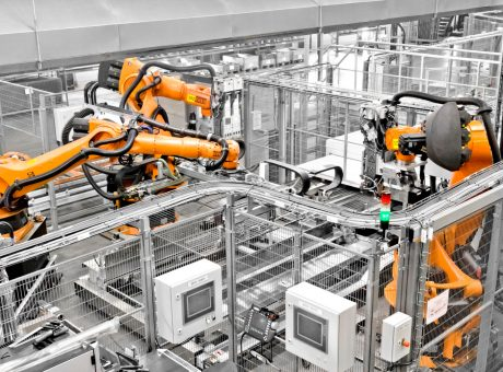 machine guarding automotive robotics