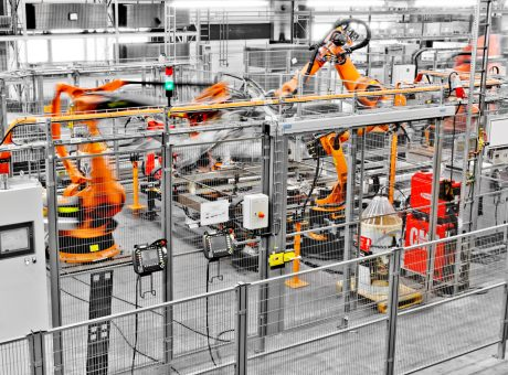 machine guarding automotive robotics blur
