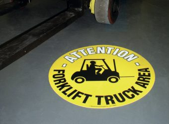 pallet racking accessories floor signage
