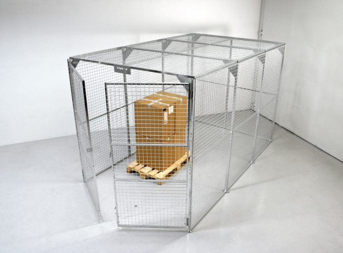 secure cages isolated cage small