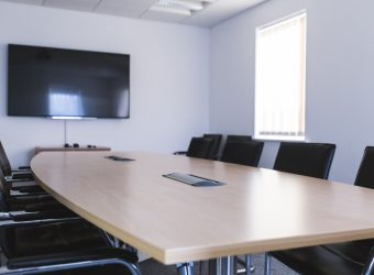 tokamak boardroom table closeup