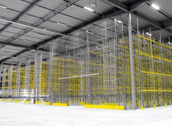 troax mesh partitioning full warehouse