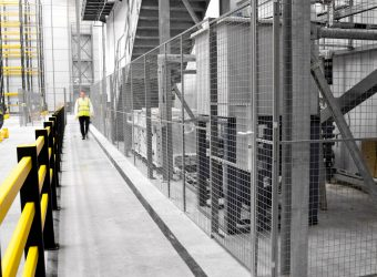 troax mesh partitioning logistics