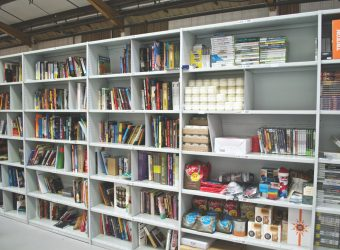 warehouse shelving bookcase