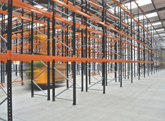 wide aisle racking installation