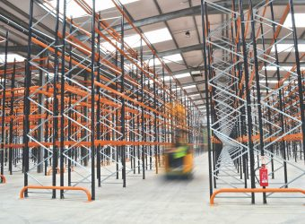 wide aisle racking new install