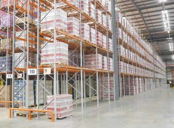 Wide Aisle - Warehouse Racking - Oracle Storage