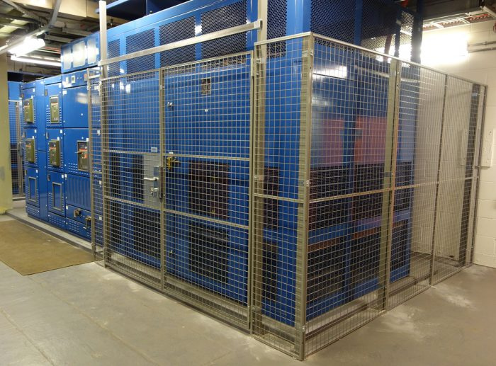 citibank mesh partitioning machinery