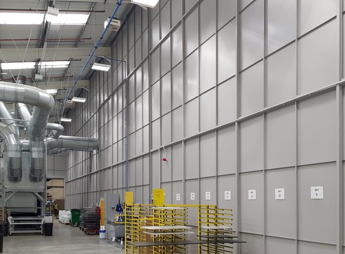 goole welding warehouse partitioning