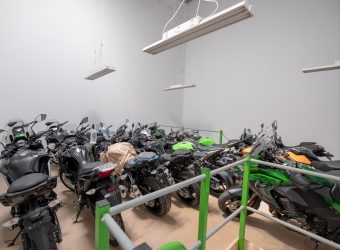 kawasaki motorcycle storage