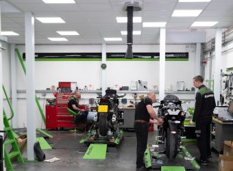 kawasaki workshop