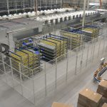 mesh partitioning storage area