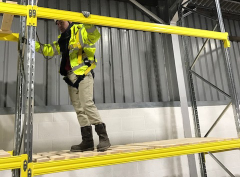 pallet racking safety inspection