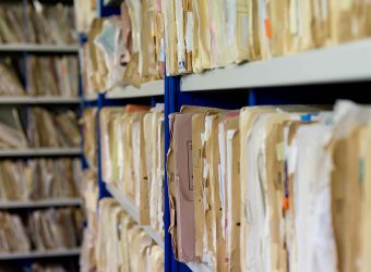 archive shelving medical records
