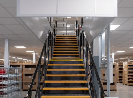 bleckmann fire rated staircase