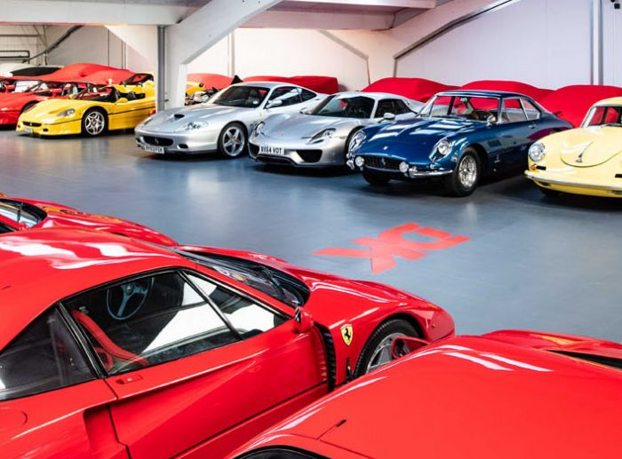 dk engineering automotive mezzanine ferraris