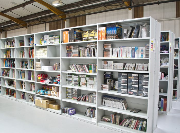 heavy duty shelving books