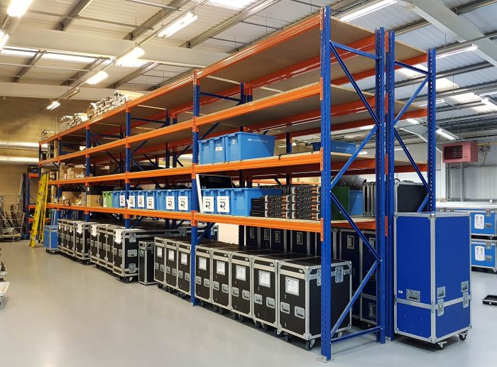 ARRI Lighting Warehouse Racking