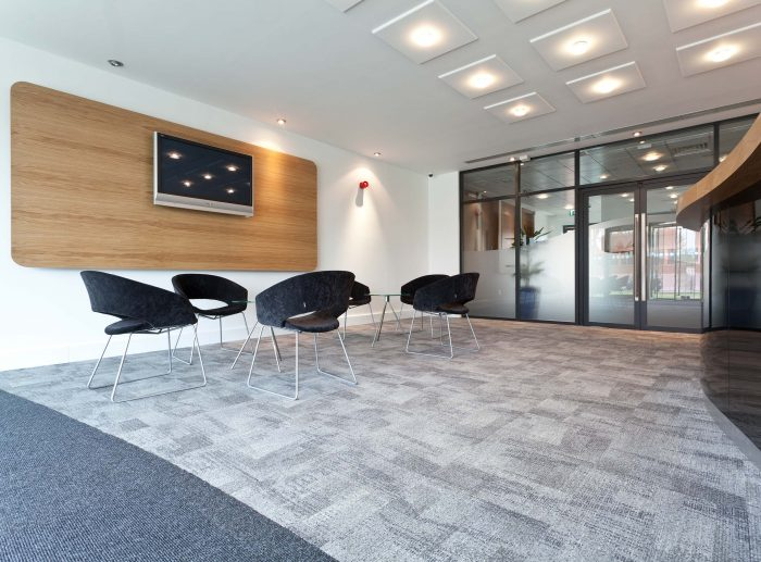 Office Fitout Main Reception