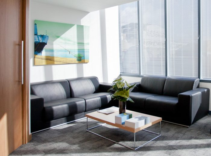Office Fitout Reception Seating