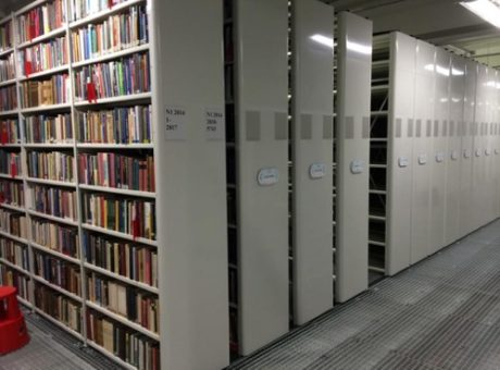Electric Mobile Shelving Solution