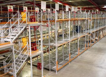 Multi Tier Racking System for Warehouse